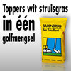 Toppers wit struisgras in één golfmengsel