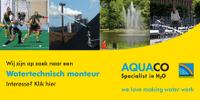Vacature monteur watertechnische installaties bij Aquaco