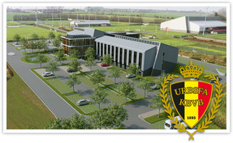 Belgian Football Center in Tubeke