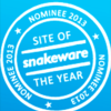 Barenbrug genomineerd voor Snakeware Site of the Year 2013