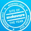 Barenbrug genomineerd voor Snakeware Site of the Year 2013