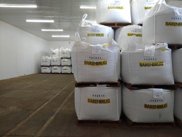 Barenbrug tem um armazém refrigerado para armazenar sementes forrageiras