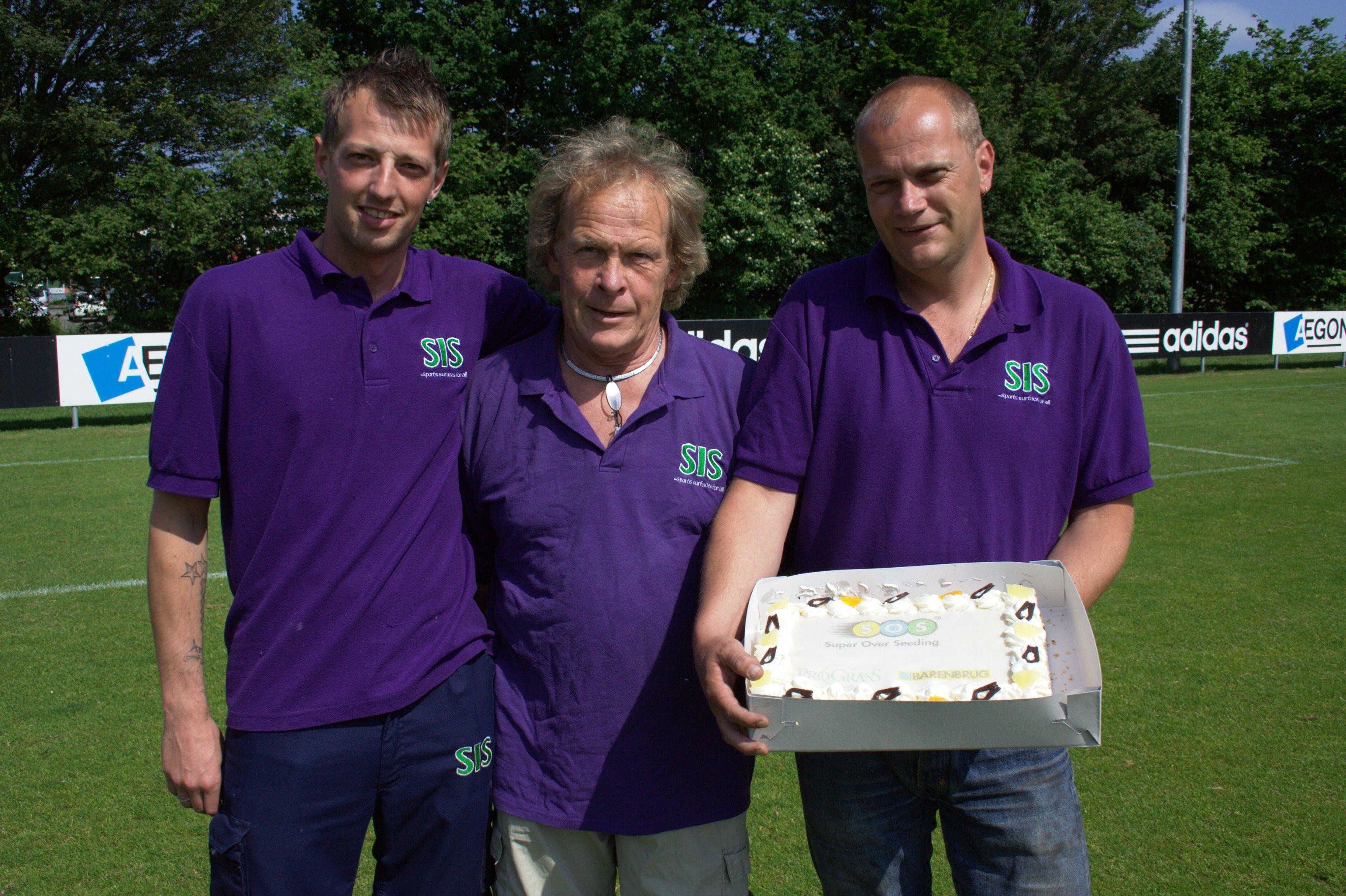Barenbrug en ProGrasS feliciteren Ajax met landskampioenschap