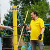 A new green playground for children at the Bukownica primary school - Poland