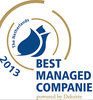 Barenbrug remporte un titre de Best Managed Company 2013