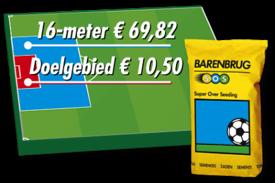 €0,10 per m2 voor doorzaaien doelgebied