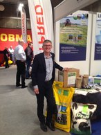 Product Manager Carsten Holmgaard at AgroNord Exhibition