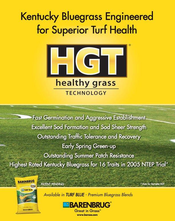 Healthy Grass Technology from Barenbrug