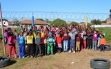 South Africa: an amusing weekend for the children of the Siyabulela Primary School