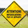 Attention aux intoxications par les nitrates !