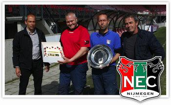 NEC, de beste grasmat van de Jupiler League