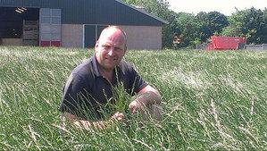 Melkveehouder John Dekker gestart met graszaadteelt voor Barenbrug