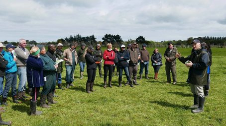 Danny Donaghy talks pasture management