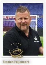 Erwin Beltman groundsman Feyenoord
