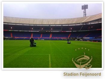 Voor de nieuwe grasmat is gebruik gemaakt van graszaad van Barenbrug.