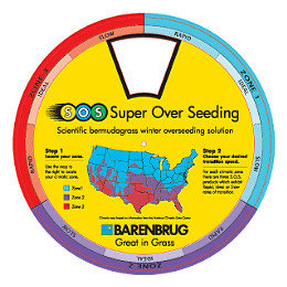 Find the grass seed mix best suited to overseed in your climate
